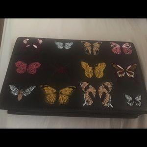 Zara purse with butterflies